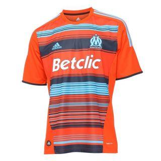 ADIDAS Maillot Foot Supporter OM 2011/2012 3rd H Orange, bleu et