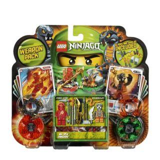 Lego Ninjago Toupies Ensemble DArmes   Achat / Vente JEU ASSEMBLAGE