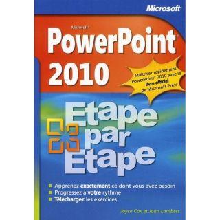 Powerpoint 2010   Achat / Vente livre Joyce Cox   Joan Preppernau pas
