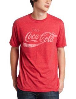 Mad Engine Mens Coca Cola Coke Classic Tee Clothing