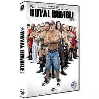 Royal rumble 2010 en DVD DOCUMENTAIRE pas cher