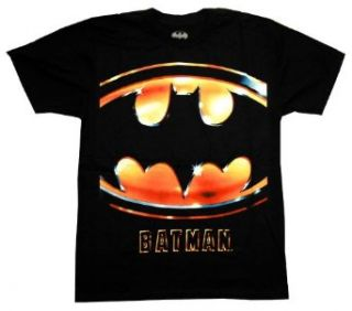 Batman Mens Movie Logo T shirt Clothing