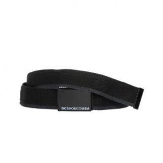 DC Shoes Mens Tagg Team Adjustable Belt in Black One Size