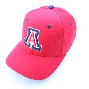 NCAA Arizona Wildcats Fitted Baseball Hat Size 7 7/8