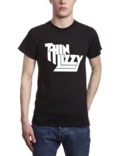 Phantasm Mens Thin Lizzy Classic Logo T Shirt Clothing