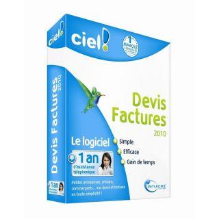 2010   Achat / Vente LOGICIEL BUREAUTIQUE CIEL Devis Facture 2010