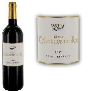 2007   Achat / Vente VIN ROUGE Château lArgilus du Roi 2007