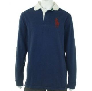 Polo Ralph Lauren Big & Tall Classic fit Number Collar Big