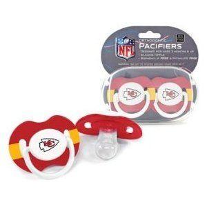 NFL Kansas City Chiefs 2 Pack Pacifier
