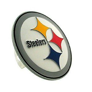Siskiyou Pittsburgh Steelers Logo Hitch Cover   Pittsburgh