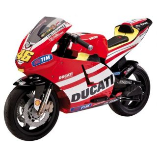 Peg Pérego   Véritable réplique de la moto Ducati Valentino Rossi
