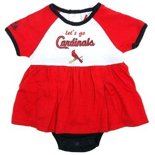 NEWBORN Baby Infant Clothes St. Louis Cardinals Girl Cheer