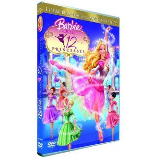 Barbie au bal des 12 princeen DVD DESSIN ANIME pas cher