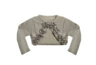 Bonnie Jean Girls 7 16 Sweater with Ribbon Flower