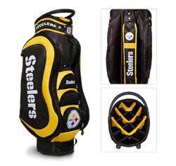 Team Golf NFL Pittsburgh Steelers   Cart Bag Sports