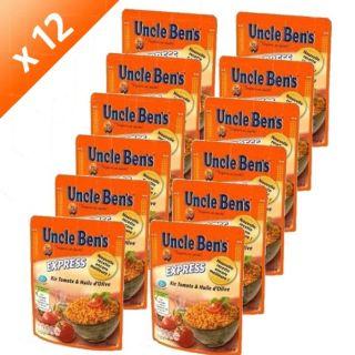 UNCLE BENS 2 Riz tomate/olive X 12   Achat / Vente PLAT LÉGUMES