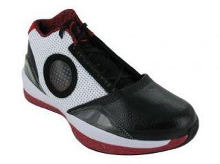Black And White Basketball Shoes Geometric