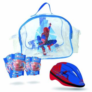 Set 2 Protections + Casque   Spider Man   Achat / Vente CASQUE   BOMBE