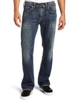 Silver Jeans Mens Zac Denim Jean, Medium Dark, 38x36