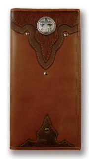 Silver Cross Leather Western Wallet Clothing
