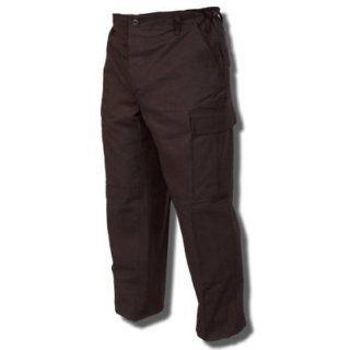 TRU SPEC 1523044 100% Cotton Ripstop BDU Pants Black