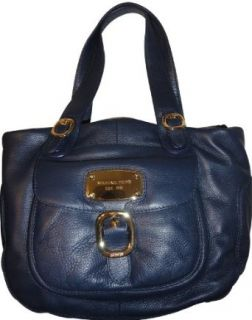 Womens Michael Kors Purse Handbag Hudson Navy HD Large