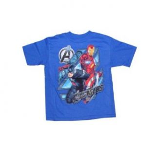 Marvel Comics Avengers 4 Superhero Boys T shirt (L (7