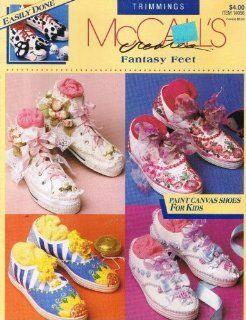 Fantasy Feet    Paint Canvas Shoes for Kids (McCalls Creates #14056