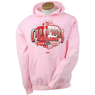 Arizona Cardinals 2008 Champions Pink Hoodie