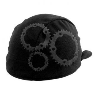 Headsweats Shorty Gears Performance Cycling Skull Cap