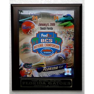 2009 UF Gators National Champions Picture Plaque