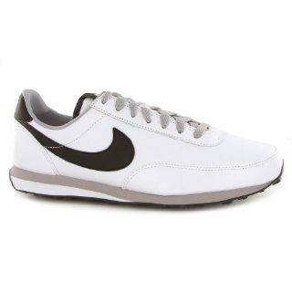 Elite Leather SI White Black Leather Mens Trainers Size 10.5 US Shoes