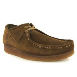Clarks Wallabee Cola Brown Suede Mens Shoes Shoes