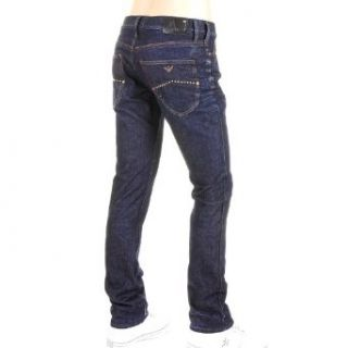 Jeans Armani Jeans J02 denim jeans slim fit dark indigo