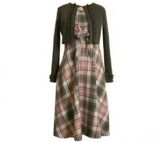 Bonnie Jean Kids Dress and Cardigan Set, PLUS SIZES