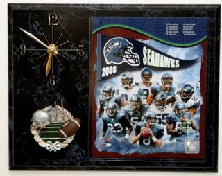 2008 Seattle Seahawks Picture Clock