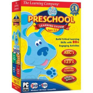 Blues Clues Preschool Learning System 2008 PC Software