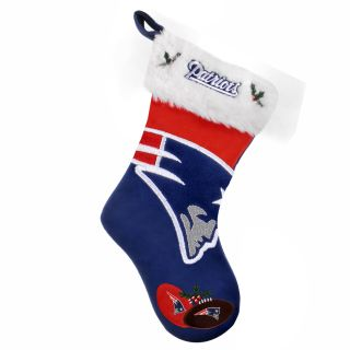 New England Patriots 2011 Colorblock Christmas Stocking
