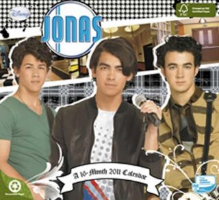 Jonas Brothers 2011 Wall Calendar