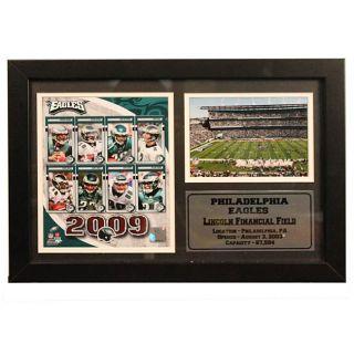 2009 Philadelphia Eagles 12x18 inch Photo Stat Frame