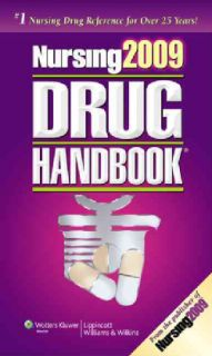 Nursing 2009 Drug Handbook + Web Toolkit