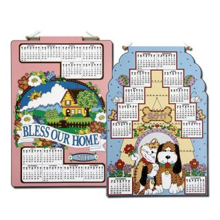 Bucilla Bless our Home/ Best Friends 2011 Felt Calendar Kits (Pack of