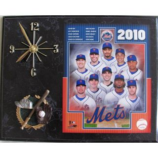New York Mets 2010 Team Photo Wall Clock