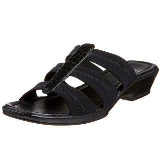 Mootsies Tootsies Womens Popular Sandal,Black/Black,6 M Shoes