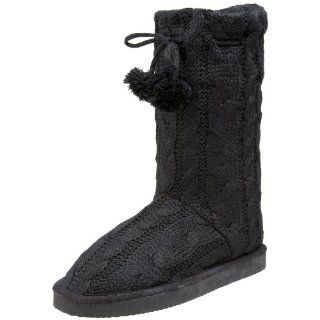 Miss Me Womens Cupcake 42 Sweater Boot,Black,8.5 M US Shoes