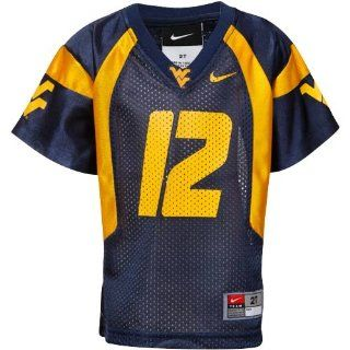 Nike West Virginia Mountaineers #12 Toddler Replica