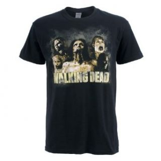 The Walking Dead   Zombies Cracked T Shirt Clothing