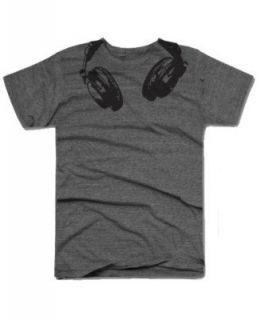 Headphones t shirt funny music head phones shirt classic