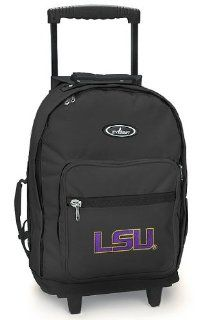 LSU Tigers Rolling Backpack LSU   Wheeled Travel or School