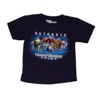Transformers Prime Animated Series Autobots Boys T shirt
